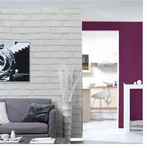 Papier Peint Trompe L Oeil Brique : papier peint trompe l 39 oeil imitation mur de brique ~ Premium-room.com Idées de Décoration