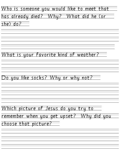 11 best images of creative writing worksheets kindergarten