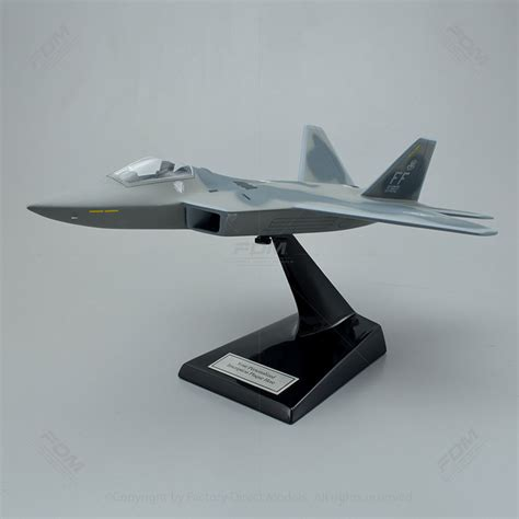 Lockheed Martin F22 Raptor Model With Detailed Interior