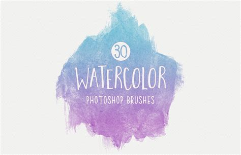water color brushes watercolor brushes for photoshop medialoot