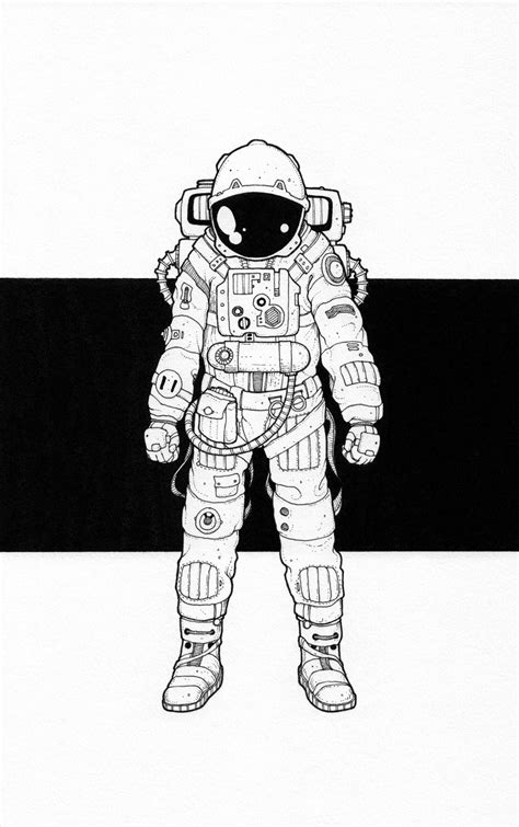 astronaut in space drawing astronaut this northern boy