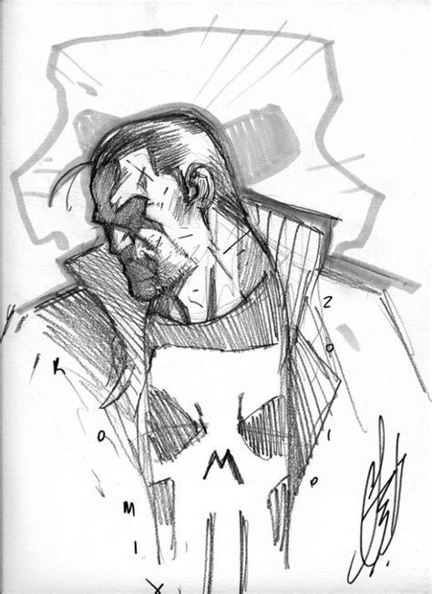 Punisher - Stefano Caselli Pencils   Comic art, Marvel