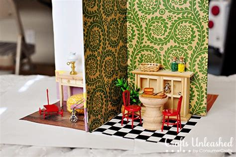 search results  dollhouse dollar store crafts