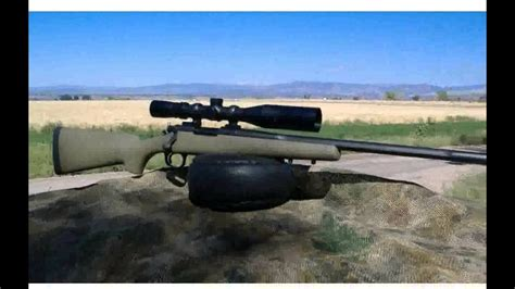 remington  long range mm remington magnum rifle  youtube