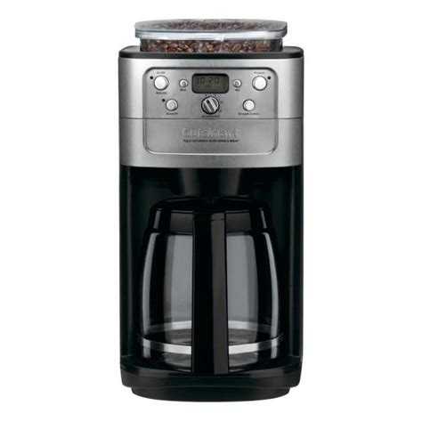 What this best drip coffee maker does is make the brewing process simple. Cuisinart Grind and Brew 12-Cup Black Chrome Drip Coffee ...