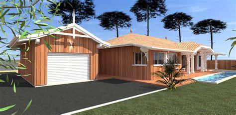 une maison en bois construction d une maison bois a gujan mcc construction