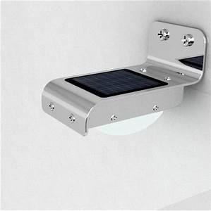 Solar powered outdoor LED light Motion sensor home