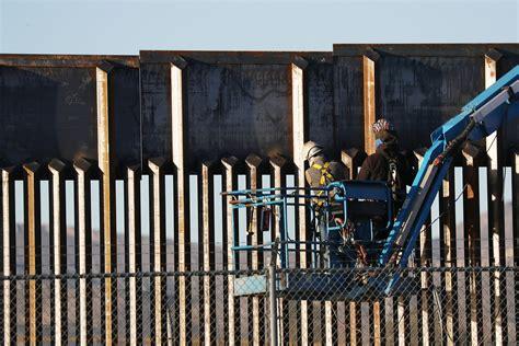 donald trumps border wall     barrier