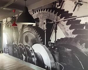 Toile De Mur : impression mur en toile tendue pour le restaurant villa factory blog easyflyer ~ Teatrodelosmanantiales.com Idées de Décoration