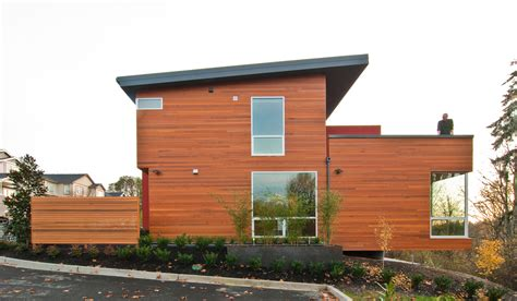 House With Shed Roof by Modernism Beyond The Shed Roof Build