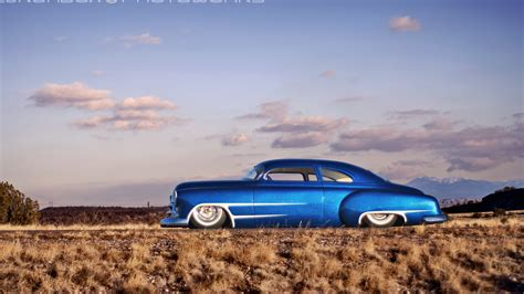 car blue cars hot rod chevy chevrolet desert