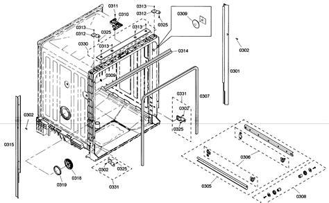 bosch dishwasher parts bosch dishwasher parts diagram