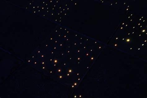 fiber optic floor l fiber optic floor diy stars light up bathroom at night gadgets science technology