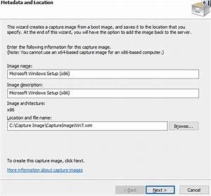How to Create a Capture Image from a Boot Image in Windows ...