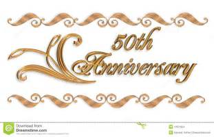 50 wedding anniversary 50th wedding anniversary clipart clipartsgram
