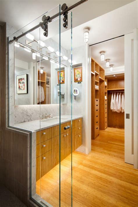 amenagement chambre avec dressing et salle de bain chambre avec dressing et salle de bain en 55 idées