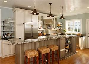 Open concept Entertainer's Kitchen - Eclectic - Kitchen