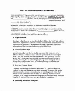 scope of services agreement template software development With scope of services agreement template