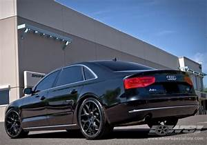 "2013 Audi A8 with 22"" Gianelle Puerto in Matte Black ..."