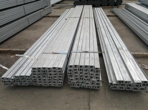 galvanized steel channel real time quotes  sale prices okordercom