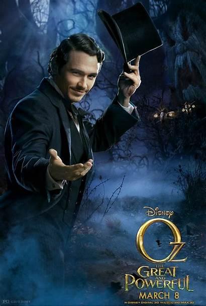 Oz Powerful Wizard Franco James Poster Weisz