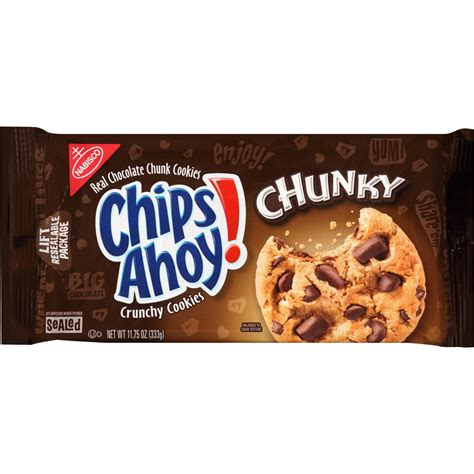 Chips Ahoy! Cookies, Chunky, 11.75 Oz | Jet.com
