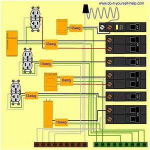Wiring Diagram For A Circuit Breaker Box In 2019