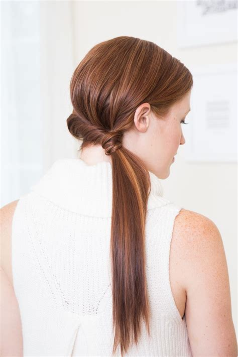 Twisted Side Pony Easy updo hairstyles