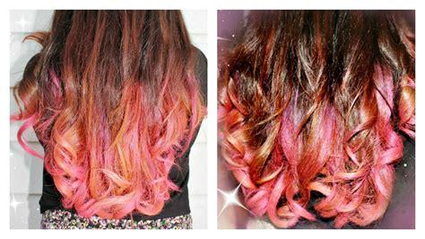garnier wash out hair color garnier color styler wash out hair color pink