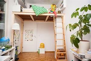 Hochbett Selber Bauen 90x200 : ein hochbett selber bauen diy anleitung pinterest ~ Michelbontemps.com Haus und Dekorationen