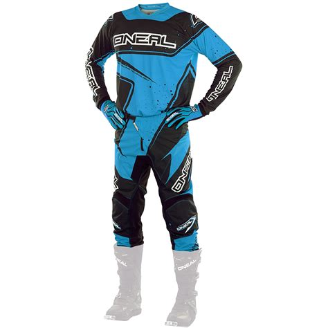 kids motocross jersey oneal 2017 new mx youth element jersey pants black blue