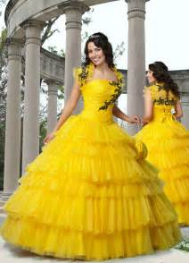yellow dress for wedding yellow gown floor length quinceanera dresses with embroidery trendy mods