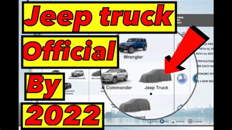 Future Jeep Truck by Future Jeep Truck Is Official 2019 2022