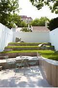 Terraced Gardens How To Take Beauty To The Next Level Minimalist Garden Small LawnSmall Garden PicturesBernard Trianor Designing Small Gardens With Minimalist Design Ideas With Pine Wood Garden Furniture With Small Pond Using Glass Wall OLPOS Design