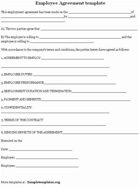 Employee Key Agreement form Luxury 8 Best Of Employee Key Agreement Template | Contract template