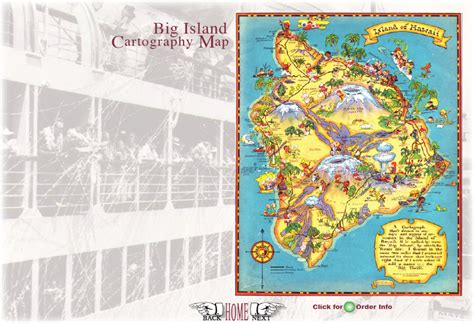 visitors bureau the keauhou store big island maps
