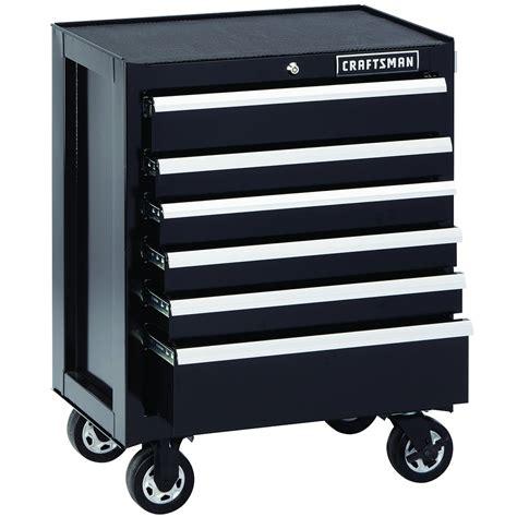 craftsman professional cabinet saw craftsman 6 drawer premium heavy duty rolling cabinet black