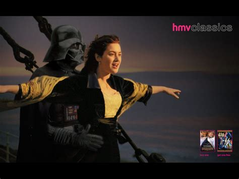 HMV | RR Donnelley | Star Wars VS Titanic | WE LOVE AD