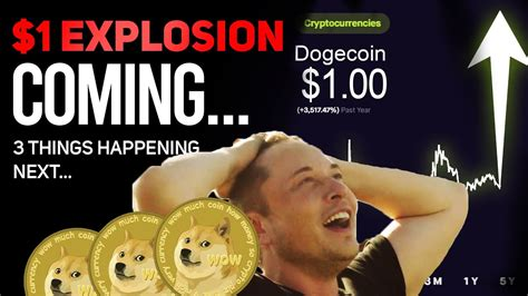 $1 DOGECOIN EXPLOSION COMING....- 3 MAJOR THINGS HAPPENING ...