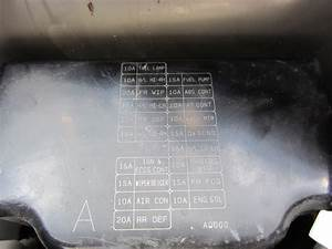 2008 Infiniti G35 Fuse Box Diagram