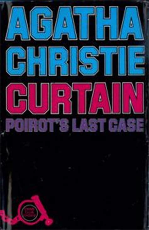 agatha christie curtain