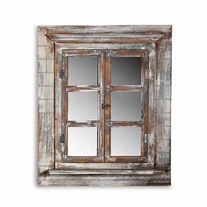 Spiegel Landhaus : wandspiegel deko spiegel fensterladen bilderrahmen shabby ~ Pilothousefishingboats.com Haus und Dekorationen