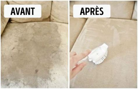 nettoyer un canape en tissu avec du bicarbonate 10 astuces géniales pour tout nettoyer à la maison sans se