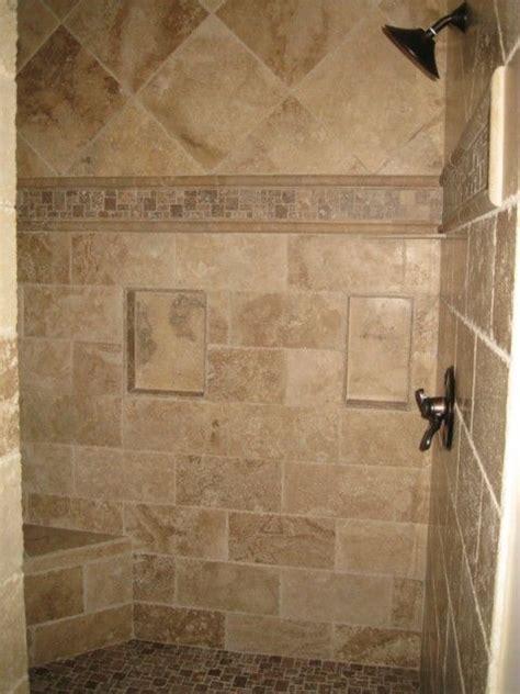 Travertine Bathroom Ideas by Rustic Walk In Shower Ideas Search Bathroom
