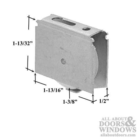 screen door roller assembly