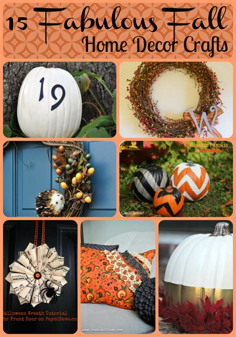 fabulous fall home decor crafts tobethode