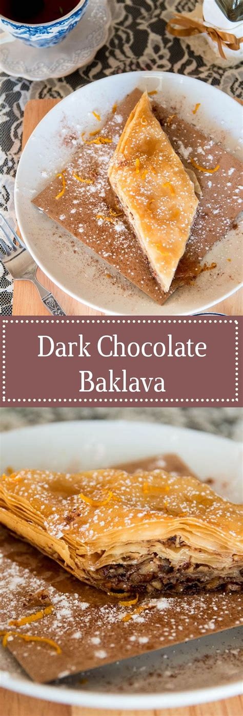 Greek recipes can be slightly different based on a variety of reasons, such as the region of greece that the recipe is being made in. Chocolate Baklava Recipe - Let's Taco Bout It Blog | Recipe | Chocolate baklava, Greek desserts ...