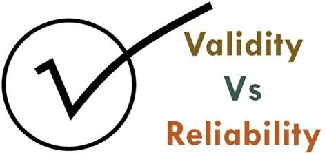 Difference Between Validity and Reliability (with