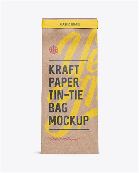 400+ vectors, stock photos & psd files. Free PSD Mockup Kraft Paper Bag w/ a Plastic Tin-Tie ...