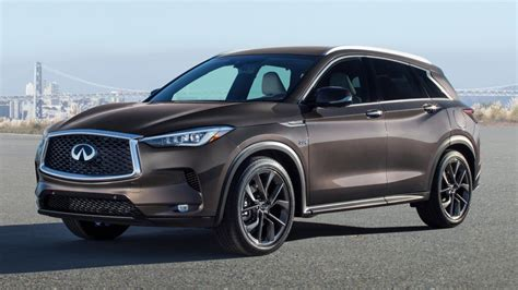 2019 Infiniti Qx50 Suv Goes Live In La With Innovative